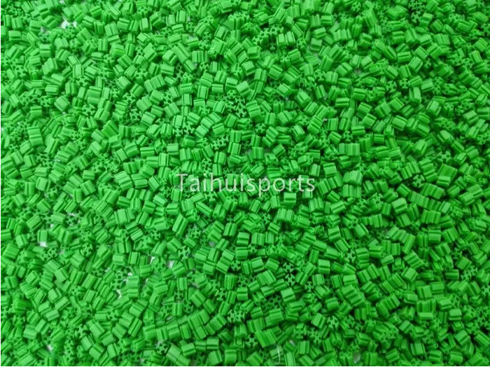 Cooling Green Environmental Friendly Recyclable Rubber Synthetic Turf Infill For Outdoor Artificial Grass Infill