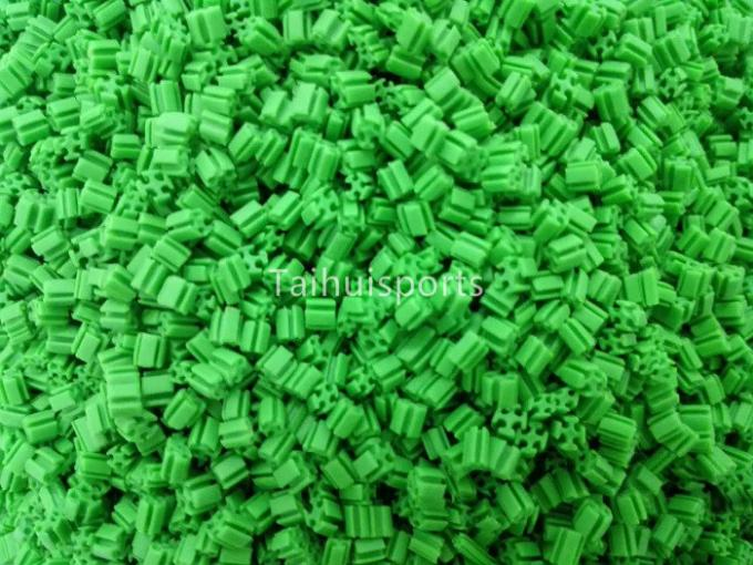 Cooling Green Environmental Friendly Recyclable Rubber Synthetic Turf Infill For Outdoor Artificial Grass Infill 1